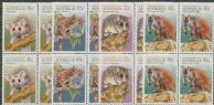 AUS SG1233-6 Animals of the High Country set of 4 blocks of 4